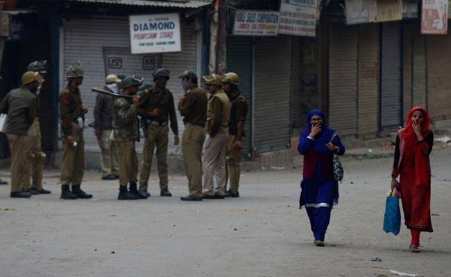 Srinagar Students, Police Clash